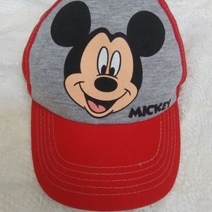 Kids One Size Mickey Mouse Baseball Cap
